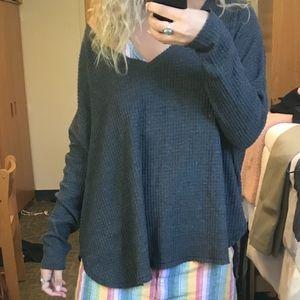 Oversized Out From Under Sweater